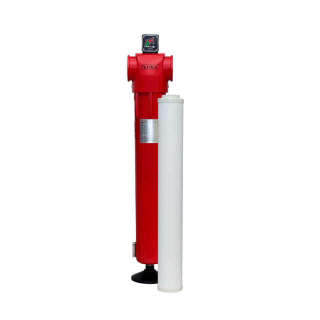 "Avec CE YF160 RC 4 ""Débit 48m³ / min 0,01μm Filtration Pipeline Filtre à air comprimé"
